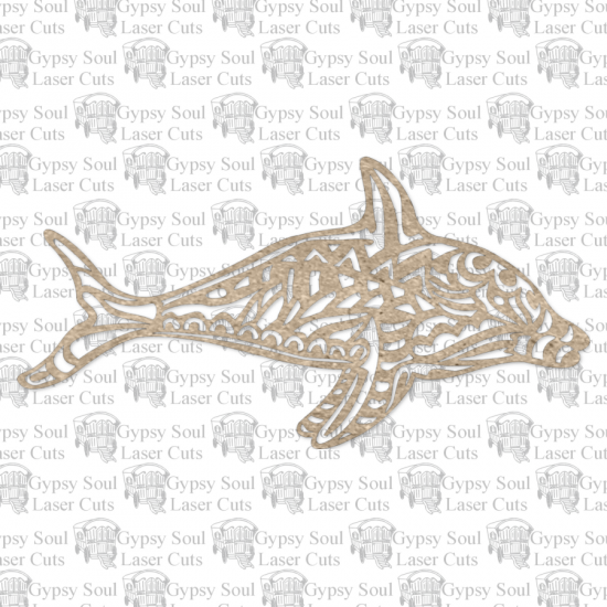 Tribal Dolphin - Click Image to Close