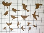 Birds Shape Set