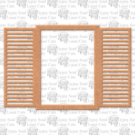 Window with Shutters - Click Image to Close